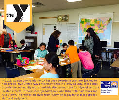 five of the nine after school enrichment sites operated by the garden city family ymca are funded with help from finney county united way