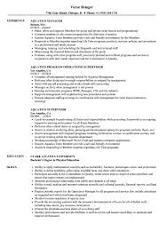 Aquatics Resume Samples Velvet Jobs