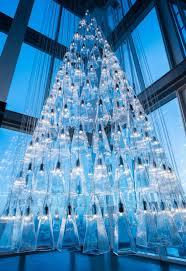 The Shard London Christmas Lights Lee Broom Creates Christmas Tree From 245 Pendant Lights For