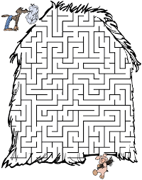 three little pigs maze%5B1%5D free maze printable work sheets du�an �ech on printable form maker