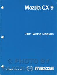2007 mazda cx 9 wiring diagram manual original