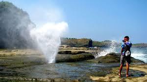 Image result for pantai klayar