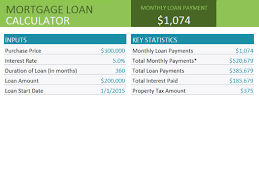 mortgage amortization comparison calculator home loan comparison office templates
