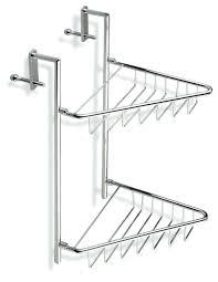 swingeing shower door caddy plain design over shower door classy inspiration the chrome wire corner double