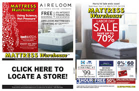 Mattress Warehouse Labor Day Sale