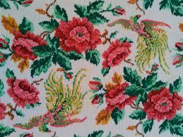 Retro Handdoek Met Bloemenprint Djipsi