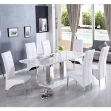 Wooden Dining Table and 6 Chairs UK Furniture in Fashion
