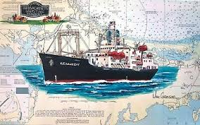 Coast Guard Chart Art Uscgc Eagle Nautical Chart Watercolor Art Print Us Coast