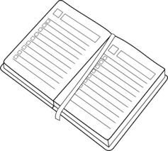 Planner Clip Art At Clker Com Vector Clip Art Online Royalty Free