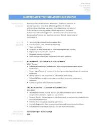 Maintenance Technician Resume Best Apartment Maintenance Technician Resume Sample Aircraft Mmventuresco