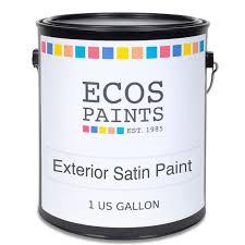 ecos exterior satin wall paint eco