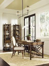 vintage desks for home office. Office Rattan Tropical Home With Vintage Desk And Desks For W