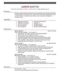 Cnc lathe machine operator resume samples cnc operator resume sample jason  van dongen resume machinist resumes
