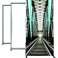 Picture frame light Wireless Orbus Vector Frame Light Box With Backlighting The Exhibitors Handbook Orbus Vector Frame System Light Box Displays