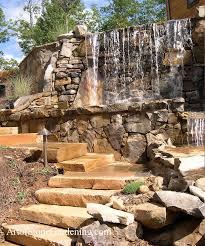 ponds waterfalls outdoor water