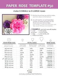 Large Paper Flower Pattern Large Paper Flowers Template Flowers Healthy