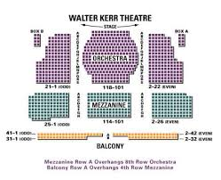 Starlight Theater Seating Chart 32 Explicit Walter Kerr Theatre Seat Map