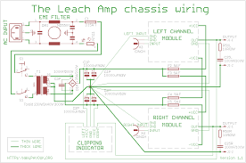 the leach amp w amplifier after power socket is connected emi filter which reduce interference between amplifier and neighbourhood