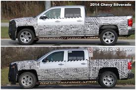 Spied! 2014 Chevrolet Silverado and 2014 GMC Sierra with Less Camo