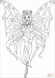 Kleurplaten Winx Enchantix