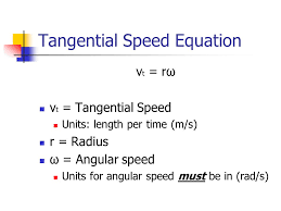 tangential sd equation
