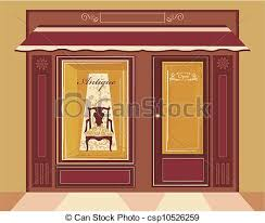store window clipart. Plain Clipart Antique Shop  Csp10526259 With Store Window Clipart E