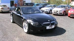 2004 BMW 645Ci with custom exhaust and 22 inch rims - YouTube