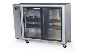 skope bb380 2 glass sliding door fridge