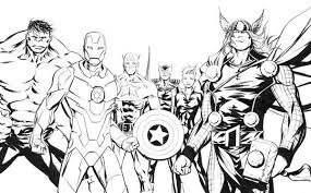 Small Picture The Amazing Avengers Picture Coloring Page Download Print