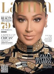 Adrienne Bailon on Latina Magazine s September 2014 Cover Pics.