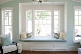 White Built Window Seat Love Adore Undressed Windows DMA Homes