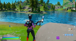 Fortnite Chapter 2: Complete the swimming time trials at Lazy Lake a...