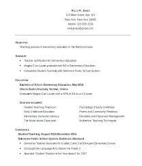 Sample Simple Resume Beauteous Sample Simple Resume Sample Of Simple Resume For Fresh Graduate