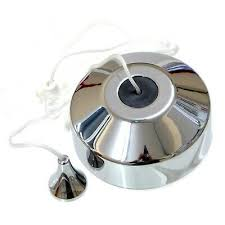 ceiling pull cord light switch polished