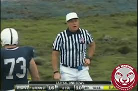 High School Football Referee Signals Chart Common Ncaa Football Penalties And Referee Hand Signals