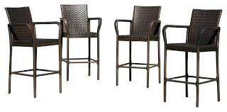 outdoor wicker bar stools home design