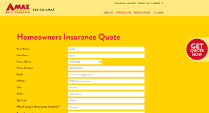 amax homeowners insurance quote step 4