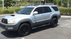 2003 Toyota 4Runner Sport Edition (Black Wheels) - YouTube