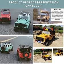MN-D90 Rock Crawler <b>1</b>/<b>12 4WD</b> 2.4G Remote Control High Speed ...