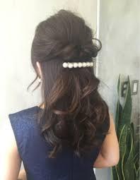 上品なお呼ばれハーフアップku 327 ヘアカタログ髪型ヘア
