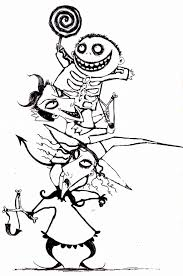 Coloring Pages Coloring Pages Free Printable Nightmare Before