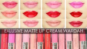 swatches review exlusive matte lip cream wardah irna dewi you