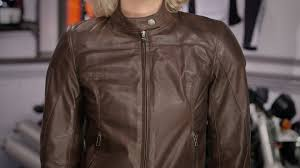 dainese women s mike leather jacket review at revzilla com you