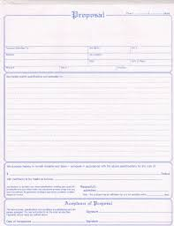 free printable bid proposal forms free contractor proposal template complete guide example