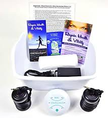 Foot Detox Machine Color Chart Ionic Foot Cleanse Detox Foot Bath Machine Foot Spa Bath For Home Use Free Regain Health Vitality Booklet Brochure