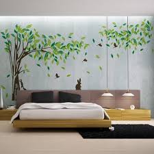 Living Room Wall Decals Bedroom Wall Sticker TV Background Wall Decal    WallDecal ...