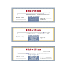 free gift certificate template 21
