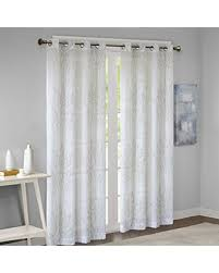 Can't Miss Deals on Sheer Curtains For Bedroom, Transitional Grommet ...