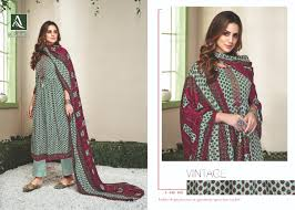 Winter Suits Design For Ladies Alok Suit Nayra Pure Pashmina Winter Embroidery Dress Material 8 Pcs Catalog