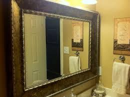 Bathroom Mirror Storage Oval Bathroom Mirror Ideas Rectangular Natural Brown Storage